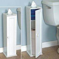 Toilet Paper Storage Cabinet @ Fresh Finds