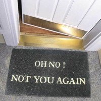 Door Mat: Oh No - 2Shopper, Inc.