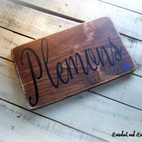 Personalized Gift, Housewarming Gift, New Home Sign, Custom Wedding Sign, Personalized Wedding Gift, Family Name Sign, Rustic Wooden Plaque