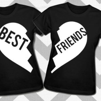 BEST FRIENDS - Shirt Set - Women's BFF Matching Shirts
