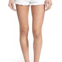 True Religion Brand Jeans 'Joey' Cutoff Denim Shorts (Optic White) | Nordstrom