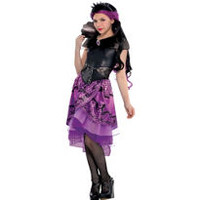Girls Raven Queen Costume Supreme - Ever After High- Party City