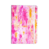 "CarolLynn Tice ""Fancy"" Pink Yellow Everything Notebook"