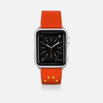 China flag - Patriot collection Apple Watch Band (42mm)  by WAMDESIGN | Casetify
