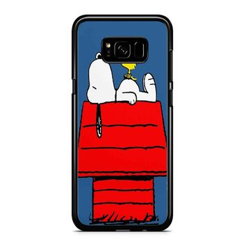 Snoopy And Woodstock Samsung Galaxy S8 Plus Case