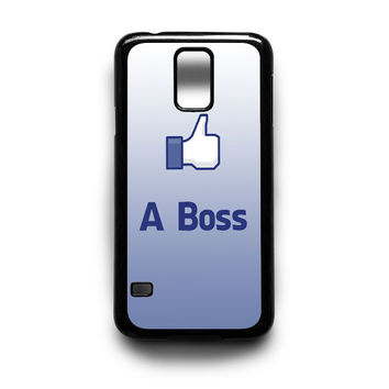 Like a Boss Samsung S5 S4 S3 Case By xavanza