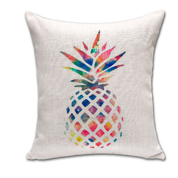 Pattern Cotton Linen Cushion Home Mat [6338237764]