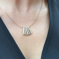 Gold/Silver Bar Necklace