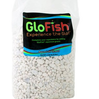 Glofish Aquarium Gravel Bright White 5 lbs