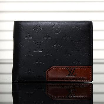 Boys & Men Louis Vuitton LV Leather Purse Wallet
