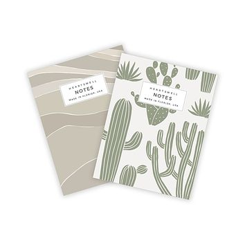 HEARTSWELL DESERT POCKET NOTEBOOK SET