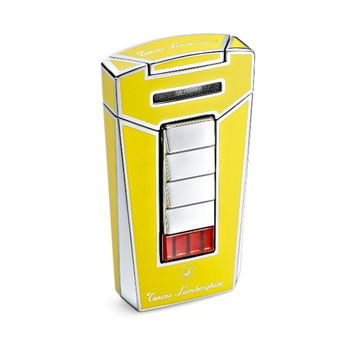 Tonino Lamborghini Aero Yellow Torch Flame Cigar Lighter