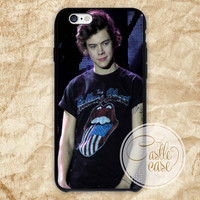 harry style one direction iPhone 4/4S, 5/5S, 5C Series, Samsung Galaxy S3, Samsung Galaxy S4, Samsung Galaxy S5 - Hard Plastic, Rubber Case