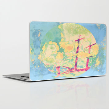 Sail in the Set Laptop & iPad Skin by Ben Geiger