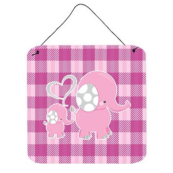 Elephant and Baby Wall or Door Hanging Prints BB6953DS66