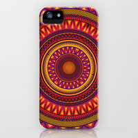 Mandala Aztec Pattern 2 iPhone Case by Maximilian San | Society6