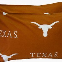 College Covers Texas Longhorns Pillow Case Set - TEXPCSTPR