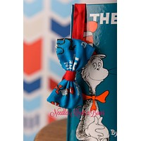 Dr. Suess Bowtie, Character Bow tie, Cartoon Bowtie, Mens, Boys Bow Ties, Accessories