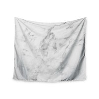 Classic White Marble Trendy Boho Wall Tapestry