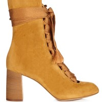 Harper lace-up suede ankle boots | Chloé | MATCHESFASHION.COM US