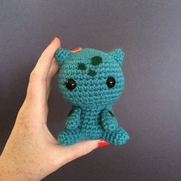 Bulbasaur Pokemon Plush Amigurumi Crochet Doll