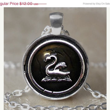 ON SALE Emma Swan Once Upon A Time Pendant Necklace / Keychain
