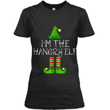 I am The Hangry Elf Matching Family Group Christmas  Ladies Custom