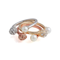 Precious Metals Ring Set