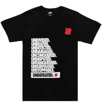 Undefeated - Undivided T-Shirt (Black)