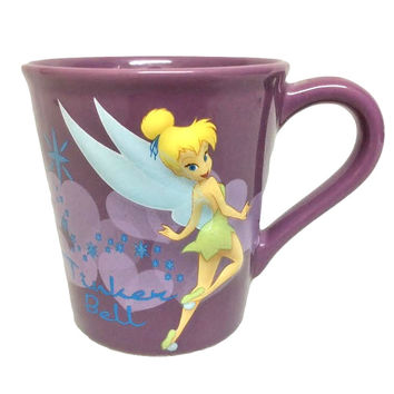 Disney Tinker Bell Tinkerbell Large Mug Coffee Tea Cup Purple