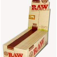 RAW Single Wide Organic Papers