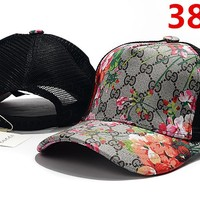 Gucci Floral Embroidered Hat Baseball Cap Hat 3831