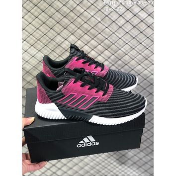 DCCK2 A588 Adidas ClimaCool 2.0 Breathable EQT Running shoes Black Purple