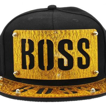 Boss Snapback Hat And Cap 293