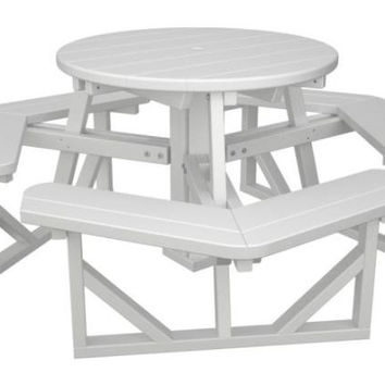 Picnic Table - White