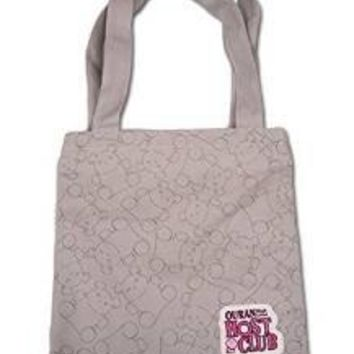 Ouran High School Host Club Bear Pattern Tote Bag