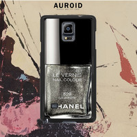 Chanel Nail Polish Graphite Samsung Galaxy Note 3 Case Auroid