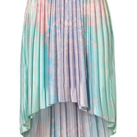 ROMWE | Asymmetric Tie-dye Galaxy Skirt, The Latest Street Fashion