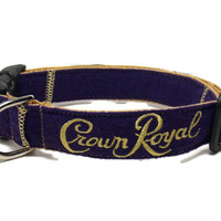 Crown Royal Dog Collar