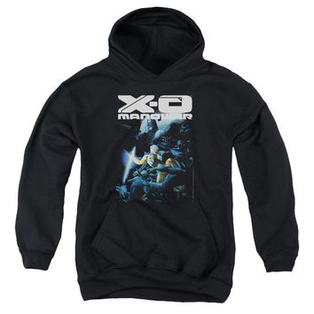 Xo Manowar - By The Sword Youth Pull Over Hoodie