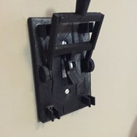 Frankenstein style light switch plate! Turn your room into a horror movie mad scientist lab! Shipping in November