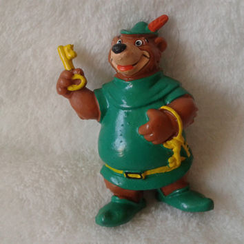 Little John Walt Disney Robin Hood Bullyland pvc  miniature figure - Vintage Germany 1982