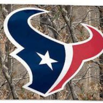 Houston Texans: Tree Camo/Camouflage Flag; 3'x5'