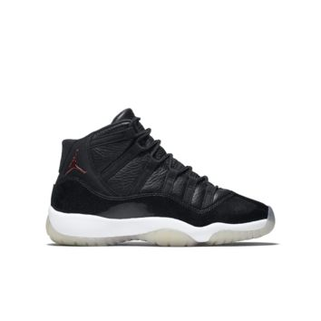 Air Jordan XI Retro Three-Quarter Kids' Shoe, by Nike