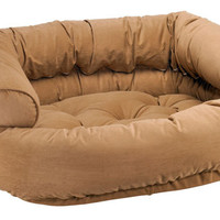 Bowsers Acorn Microvelvet Double Donut Dog Bed