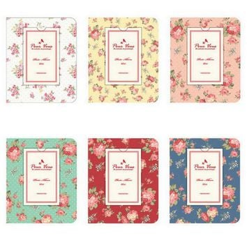 3 inch Floral Photo Album Memory Pictures Storage Hold Case Wedding Photo Scrapbook Gift