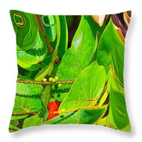 """Plant Life Throw Pillow for Sale by John Bailey - 14"""" x 14"""""""