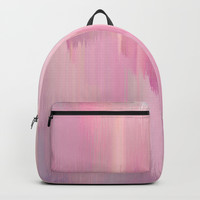 Lush Pink Backpack by Printapix