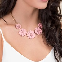Heather Floral Necklace
