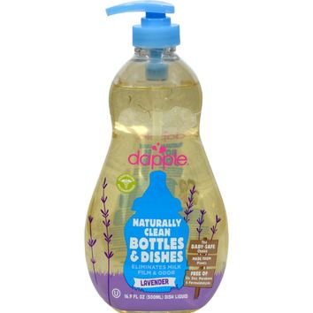 Dapple Baby Bottle And Dish Liquid - 16.9 Fl Oz